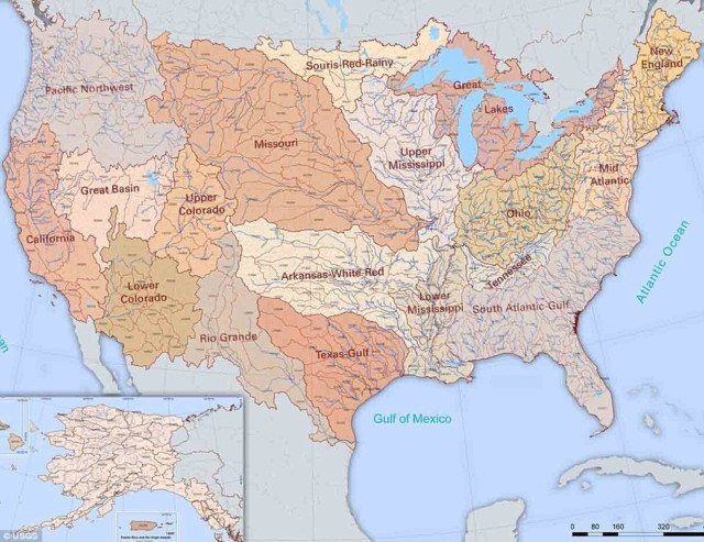 Hydrologic Riversheds